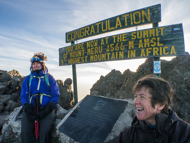 Mount Meru summit 4566M