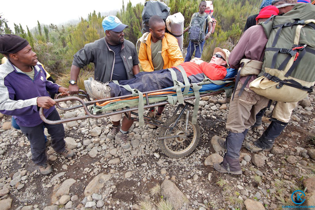 Mount Kilimanjaro death rescue