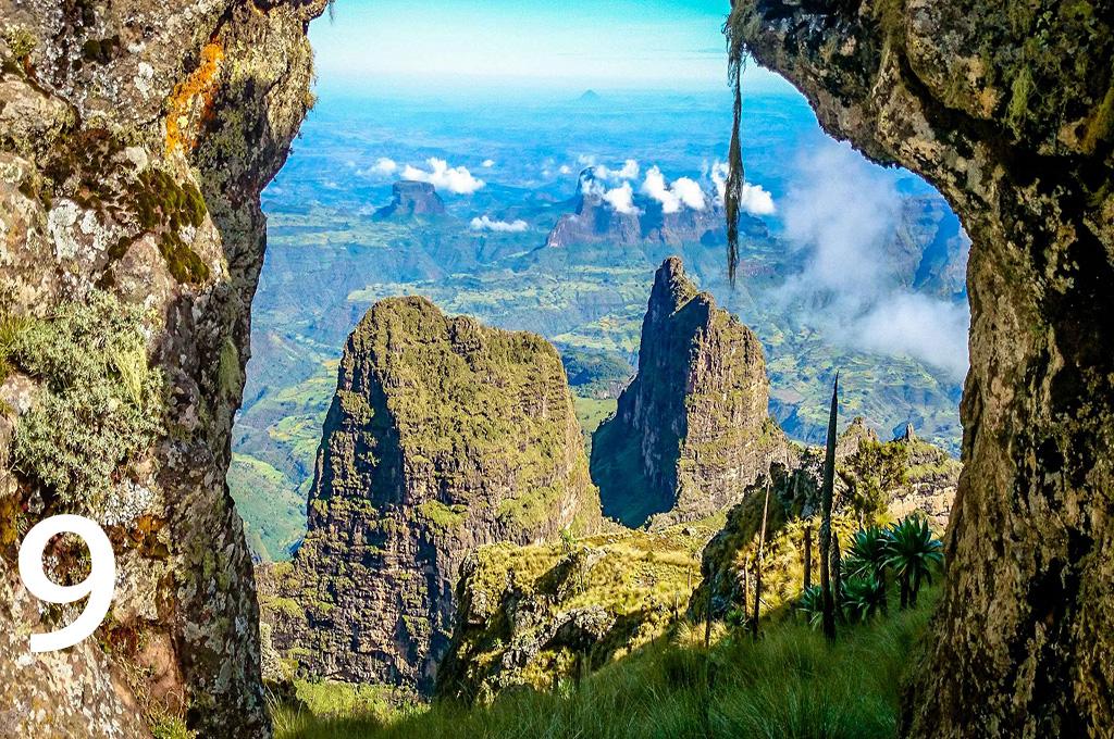 Ras Dashen Simien Mountains Ethiopia