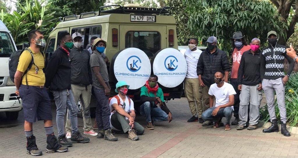 climbing kilimanjaro crew