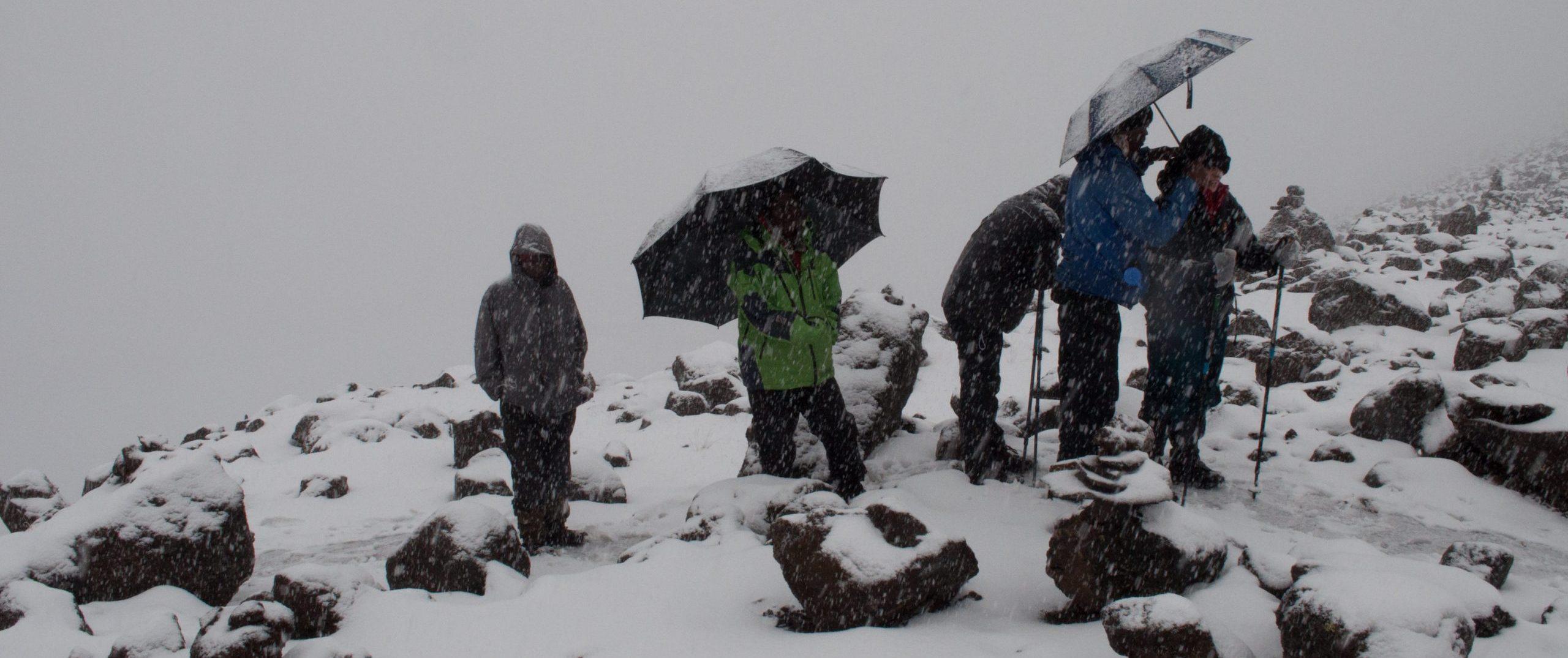 Kilimanjaro weather raining -Best time to climb kilimanjaro
