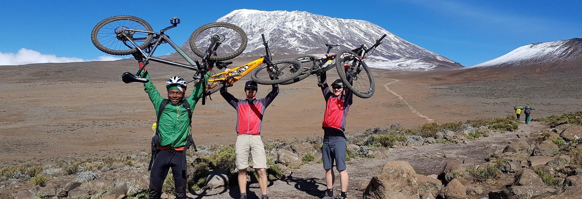 Mount Kilimanjaro Biking Tours